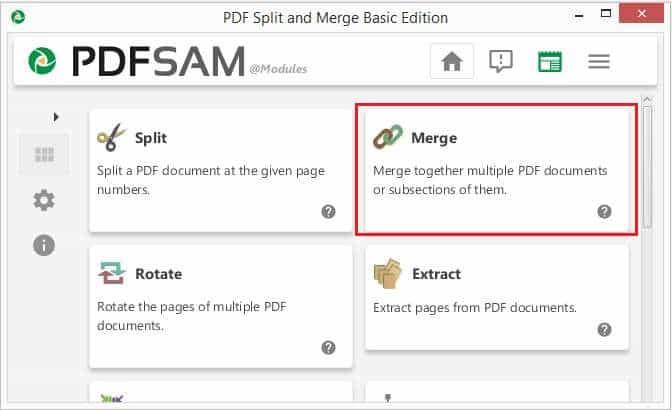 วิธีรวมไฟล์ PDF ด้วยโปรแกรม PDFsam Basic