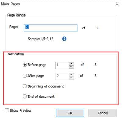 วิธีย้ายลำดับหน้า PDF ด้วยโปรแกรม Foxit PhantomPDF